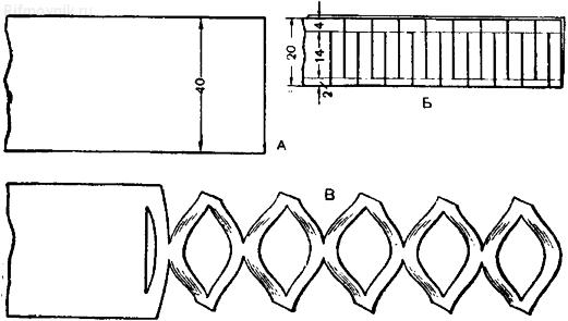 Объемная гирлянда из бумаги своими руками схемы